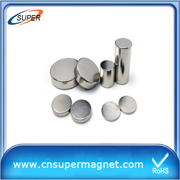 radially magnetized competive disc magnets