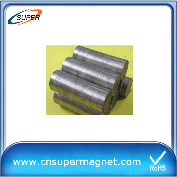 D30*10mm Sintered SmCo Magnet For sale