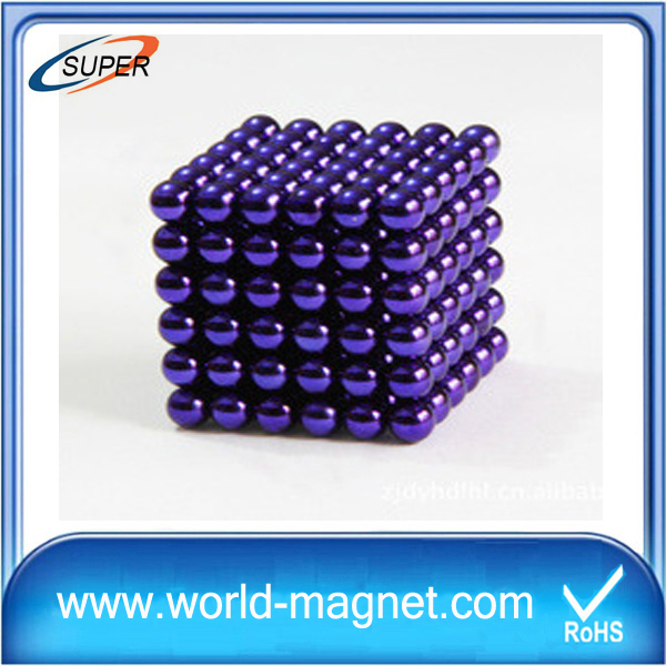 5mm 216pcs Magnet Balls Magic Beads 3D Puzzle Ball Sphere Magnetic Ball For Gift