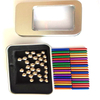 2021 Stress relief educational magnet toy magnetic sticks and balls