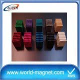 Colorful Promotional 5mm Neodymium Magnet Spheres Magnetic Ball