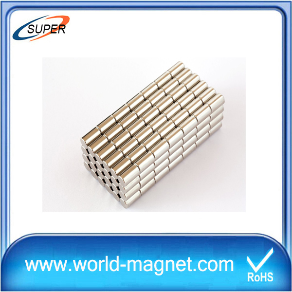 Industrial Rare Earth Permanent Cylinder Magnet