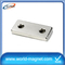 Specialized Neodymium Block Magnet with two holes